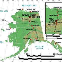 The Dalton Highway Map