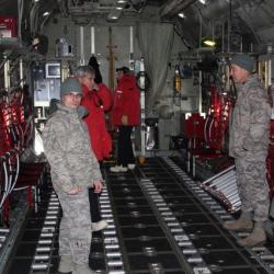 LC-130 cargo bay