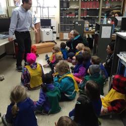 Dr. Lazzara teaching