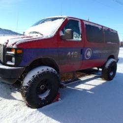 Ford E-350 4x4, McMurdo, Antarctica.