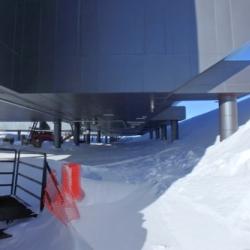 Snow under SPS