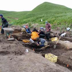 Ainu Creek Excavation Site