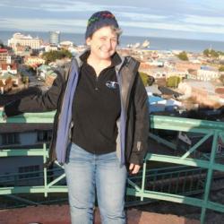 Paula in Punta Arenas