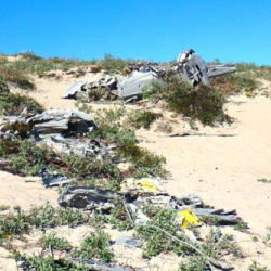 Plane Crash Remnants Near Kangerlussuaq