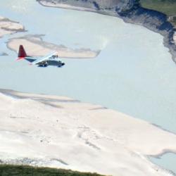 LC-130 Landing at Kangerlussuaq