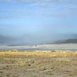 Sand Blowing in Kangerlussuaq