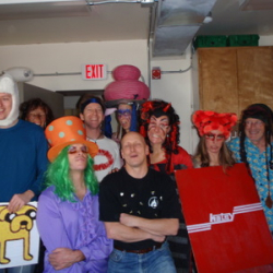 Group at Halloween