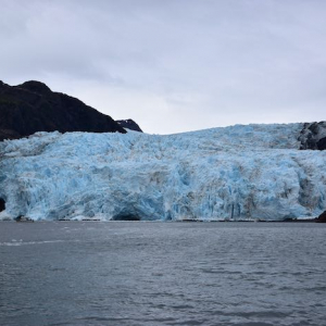 A view of Holgate Glacier